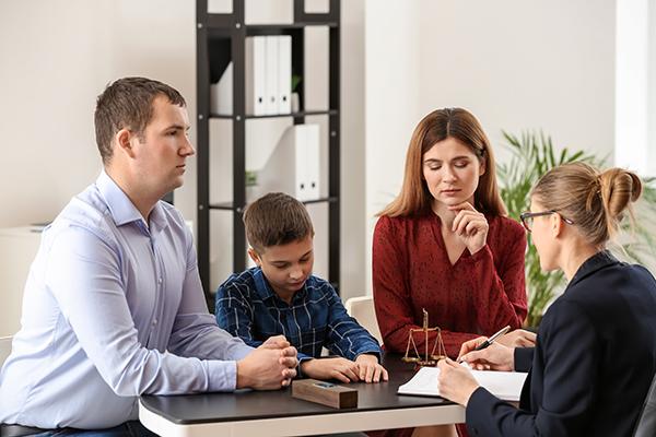 Services notaire droit de la famille